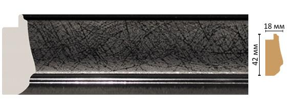Багет Decomaster 477-195 (размер 42х18х2900)