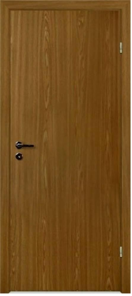 Дверь с четвертью, цвет орех(размер 0.7х2м)