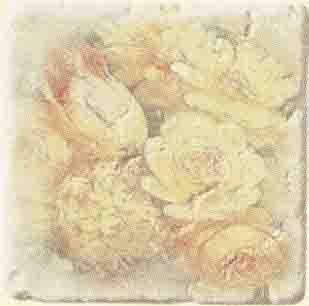 Плитка Cir Marble Age Inserto Ottocento Botticino S/3 (6 Цветков)