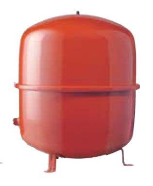 Расширительный бак для отопления, 50л. 3/4 красный