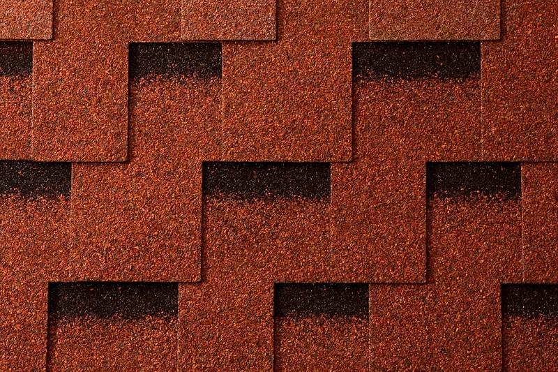 Черепица битумная Икопал Кларо, красный (уп. 3м2)
