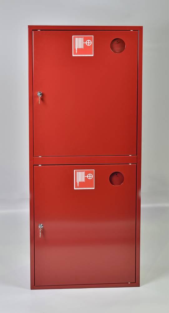Шкаф пожарный ШПК-320-21НЗК навесной закрытый красный