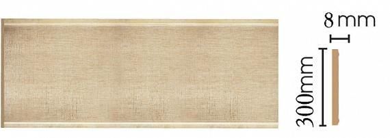 Декоративная панель Decomaster B30-933 (298х9х2400мм)