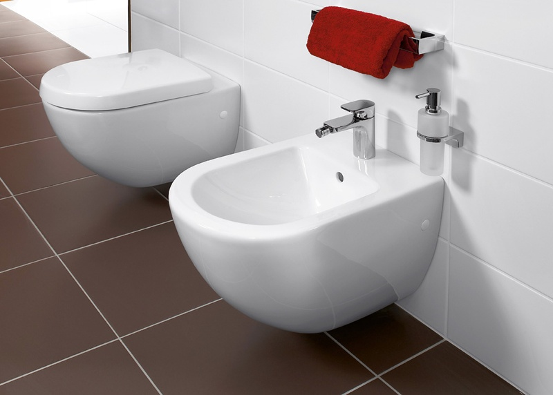 Биде подвесное Villeroy and Boch Subway 7400 0001 alpin