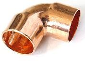 Угол (отвод) медный под пайку 90гр 12-1/2 внутр