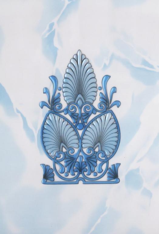 Декор Восток голубой 20х30