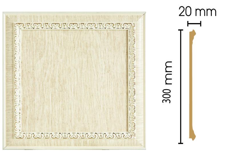 Цветная вставка Decomaster D30-6 (300х300х20)