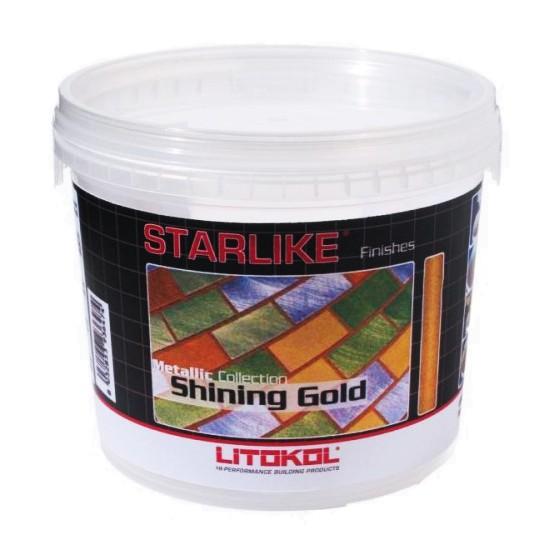 Добавка для затирок Litokol Starlike Shining Gold