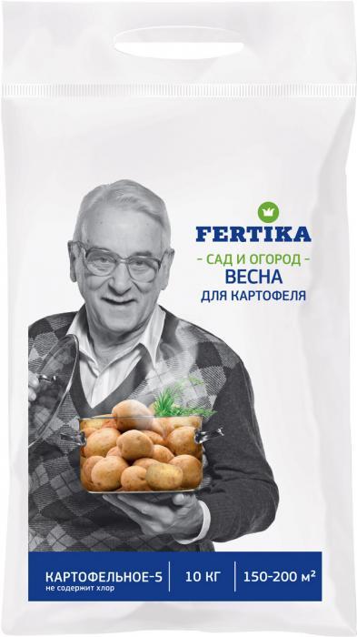 Удобрение для картофеля Фертика, 10кг от Stroyshopper