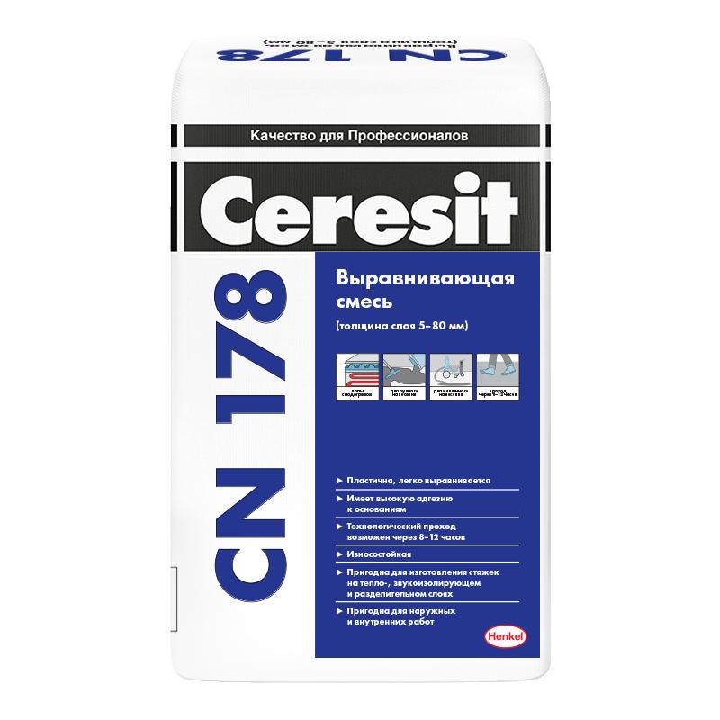 Пол наливной Ceresit CN 178 25 кг