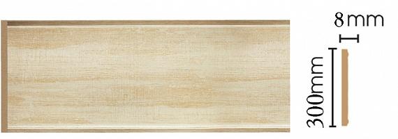 Декоративная панель Decomaster B30-281 (298х9х2400мм)