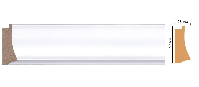 Багет Decomaster  553-114 (размер 57х26х2900)