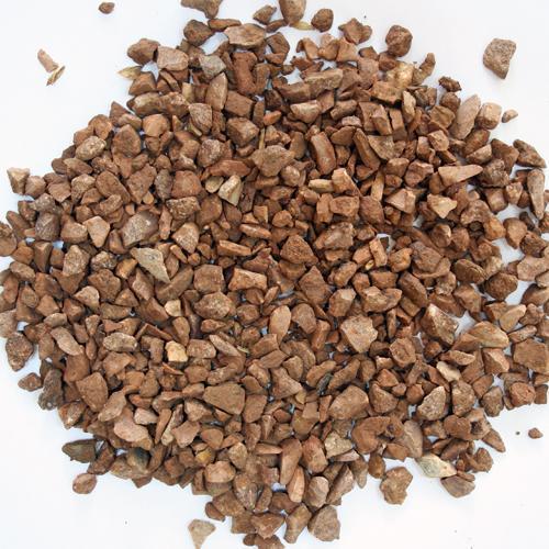 Мраморная крошка фр 10-20мм коричневая мешок 25кг