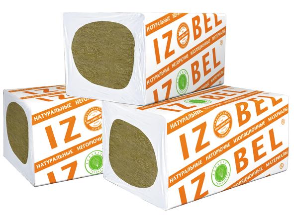 Утеплитель Izobel размер (1000х600х100) 0.24м3 (2.4м2)