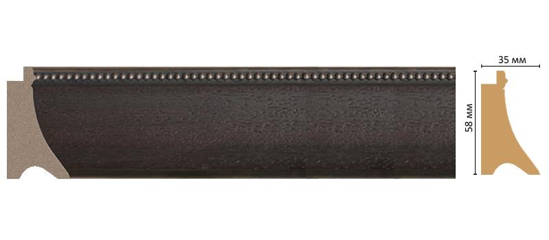 Багет Decomaster 548M-433 (размер 58х35х2900мм)
