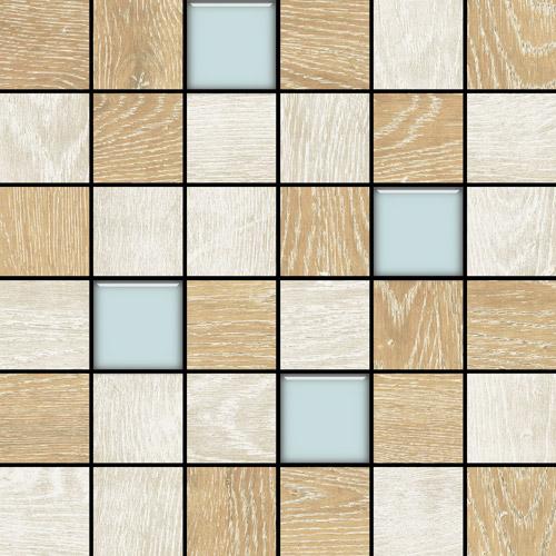 Плитка Colorker Eternal Wood Mosaico Mix Glass C 2414011-392-1