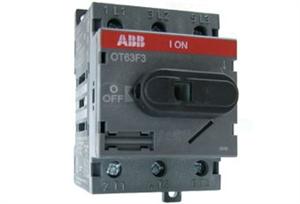 Рубильник 3П ABB OT63F3  63A