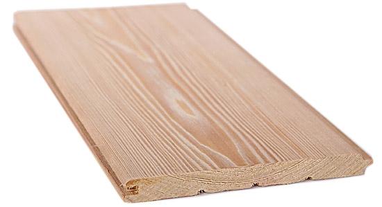 Вагонка Штиль лиственница 14x140мм 3м сорт А
