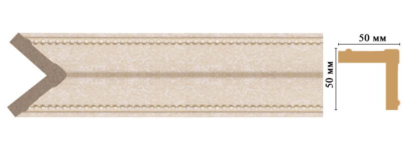 Цветной угол Decomaster 142-18D (размер 50х50х2400)