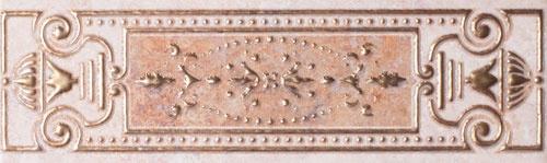 Бордюр Gracia Ceramica Palermo бежевый 01 25х7,5