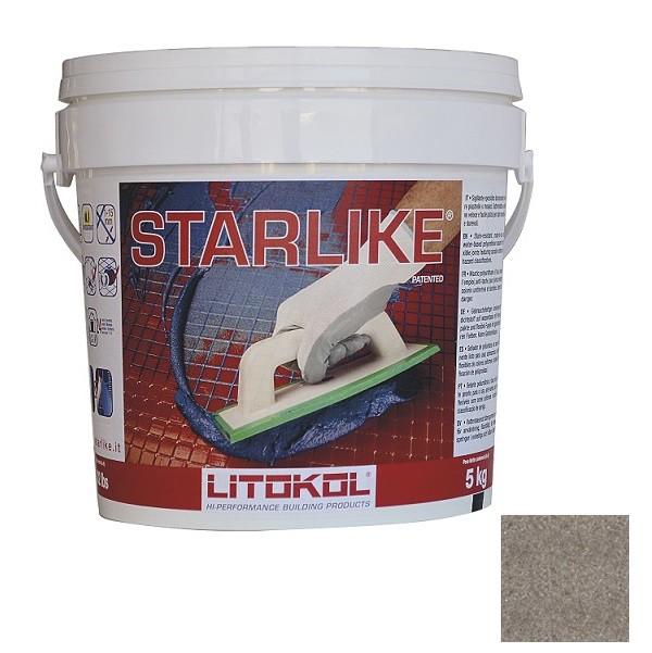 Затирка эпоксидная Litokol Litochrom Starlike Grigio Fango C.280 5 кг