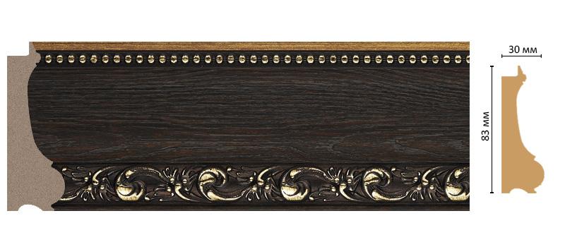 Багет Decomaster 516-1333 (размер 83х30х2900)
