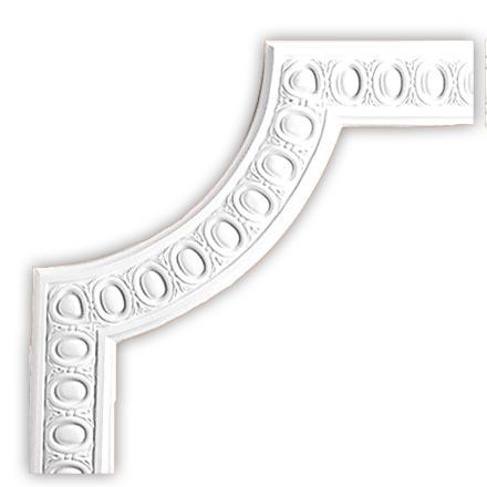 Угол декоративный Decomaster 98703-2 (к молдингу 98703)