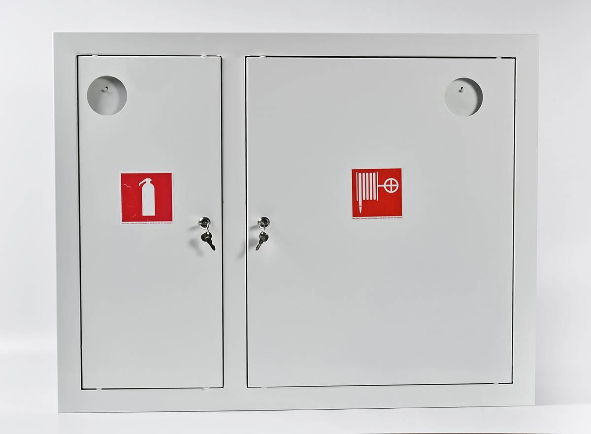 Шкаф пожарный ШПК-315ВЗБ встраиваемый закрытый белый