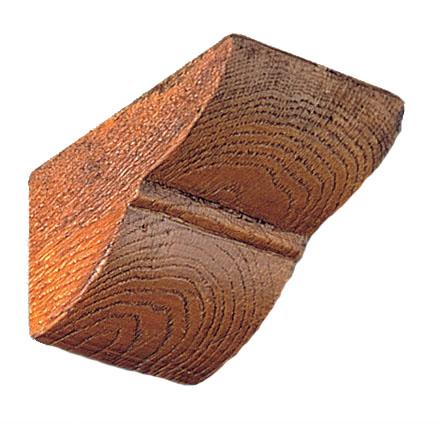 Консоль Рустик (дуб светлый) под балки 12х12мм