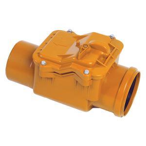 Обратный клапан 110 (наруж канализация)