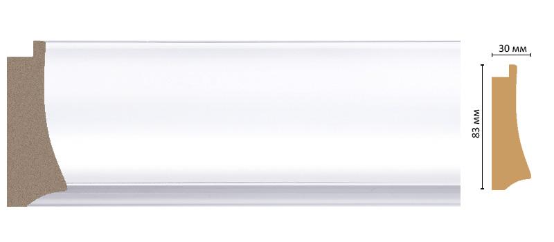 Decomaster Багет Decomaster 552-114 (размер 83х30х2900) decomaster багет decomaster 808 552 размер 61х26х2900мм