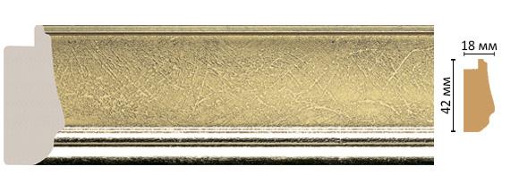 Багет Decomaster 477-1243 (размер 42х18х2900)
