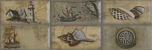 Плитка Aparici Paris Nautilus Decor A 4/011/5
