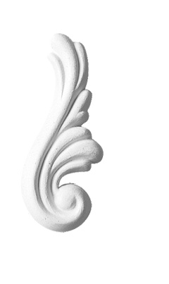Орнамент Decomaster DA 734R (размер 80х30х10)