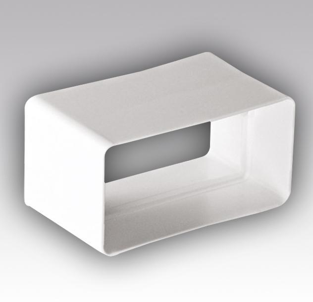 Муфта соединительная ПВХ 55х110 (вентиляция)