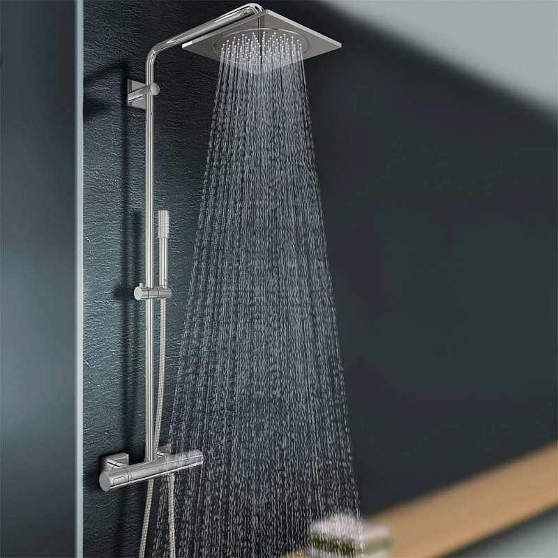 Душевая стойка Grohe Rainshower F-series System 10 27569000
