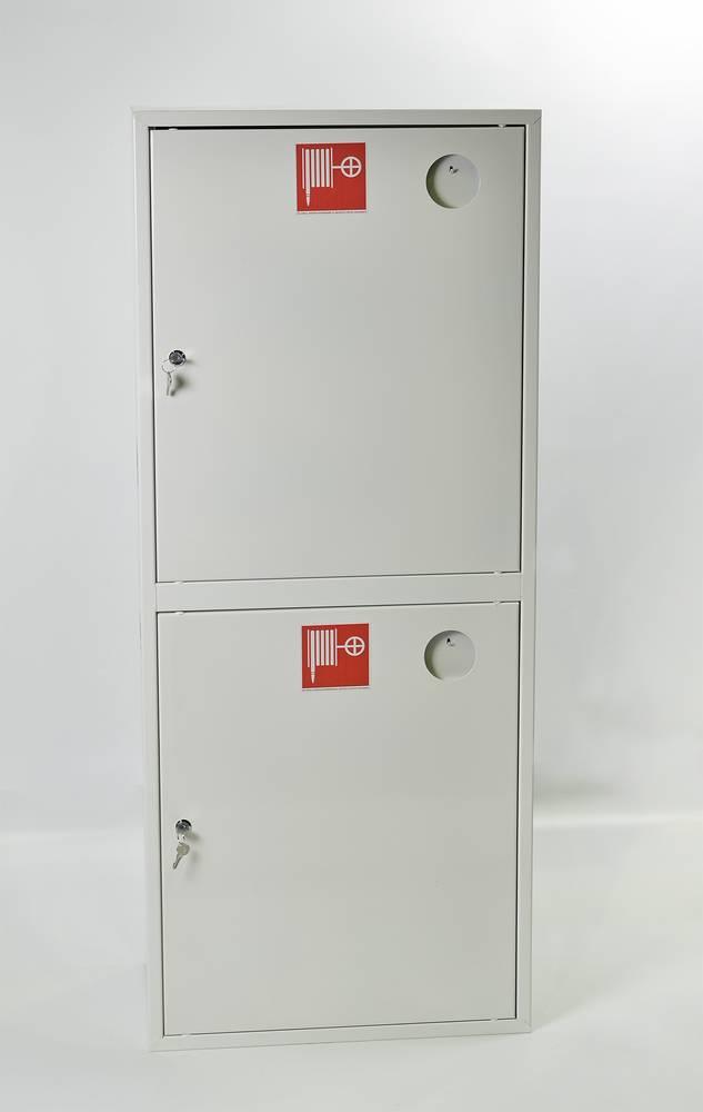 Шкаф пожарный ШПК-320-21НЗБ навесной закрытый белый