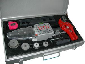 Аппарат для сварки полипропилена диам. 50,63,75 (2000вт)