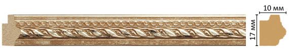 Багет Decomaster 149-955 (размер 17х10х2400)