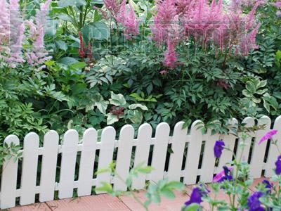 Забор декоративный №7 ЗД-2240.290-ПП пластиковый  белый 8307-Б