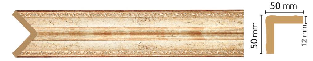 Уголок Decomaster 142-127 (размер 50х50х2400)