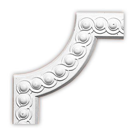 Угол декоративный Decomaster 98520-2 (размер 260х260х18)