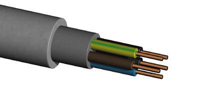 Кабель медный силовой NYM (НУМ) 2х1.5 (евростандарт)