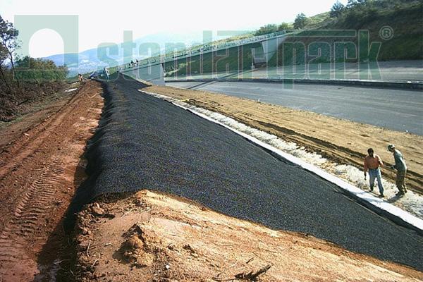 Геомат «ЕвроДор» для склона, для защиты почвы от эрозии