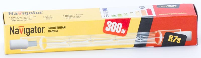 Лампа галогенная NH J117 300 W 230v R7
