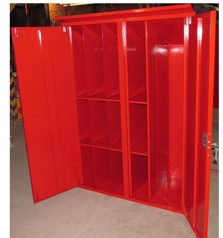 Шкаф для пожарного поста двустворчатый 1000х1300х500мм