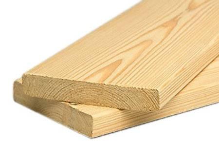 Планкен прямой лиственница 20х90х4000 сорт BC (1шт)