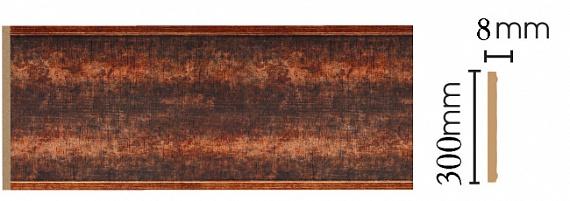 Декоративная панель Decomaster B30-767 (298х9х2400мм)