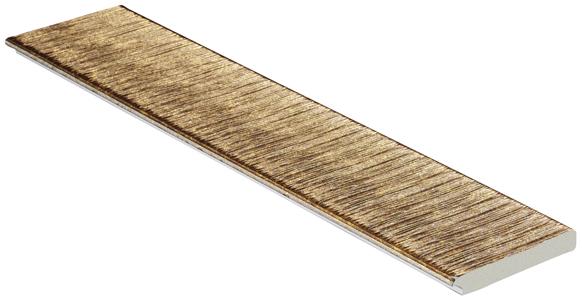 Цветная лепнина профиль Decomaster 108-17 (размер 70х10х2400)