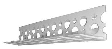Уголок перфорированный ПВХ под штукатурку 25х25